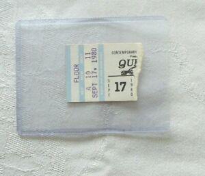 QUEEN SEPT 17 1980  ST LOUIS CONCERT TICKET STUB WITH BONUS GIFT
