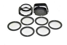 58mm Kood A Size Bright Light 6 Filter Kit Star & Diffraction Filters + Holder
