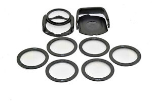 55mm Kood A Size Bright Light 6 Filter Kit Star & Diffraction Filters + Holder