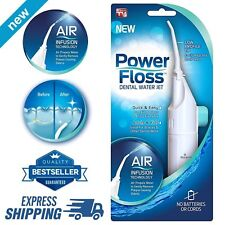 Innovations Power Floss - Air Powered Dental Water Jet Flosser As Seen on TV