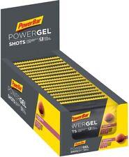 PowerBar PowerGel Energy Shots Box Gel Filled Gums Sports Supplement Nutrition