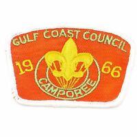 Vintage 1966 Gulf Coast Council Camporee Boy Scout Patch BSA