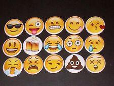 Emoji Buttons/ Pins 15