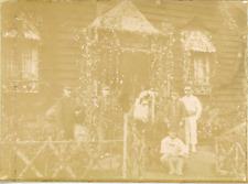 France, Vosges, Bussang, Sidi-Brahim  Devant le bâtiment de la 2e compagnie 1898