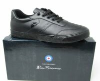 Ben Sherman Mens Trick Trainers Smart Shoes  Brand New  FREE POST  Black Trainer