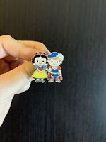 Tiny SNOW WHITE & PRINCE Cuties PRINCESS Pin- Fantasyland Disneyland LE 750