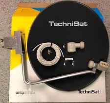 TechniSat Satanlage 650plus mit Quad-LNB (4Teilnehmer) mit 25m Kabel