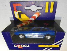 """Ford Capri 3 Corgi """"Power"""" in Blau Original Verpackt  J16"""