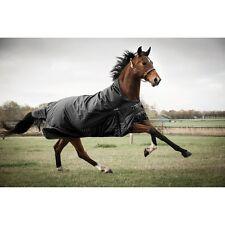 catago Couverture Extérieur Justin pour les chevaux,300g - Noir - 135 cm cheval
