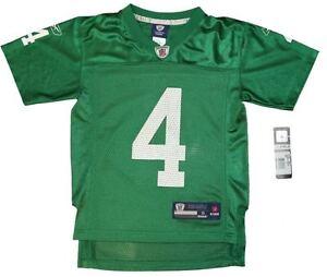 New! Youth NFL Philadelphia Eagles #4 Kevin Kolb Throwback Football Jersey