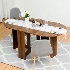 Klappentisch Holz Esstisch Klappbar Balkontisch Rund Gartentisch Holztisch
