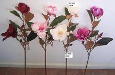 Artificial silk plants & flowers double Magnolia F78M