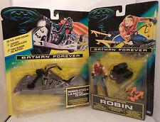 BATMAN FOREVER : STREET BIKER ROBIN & ROBIN CYCLE CARDED ITEMS
