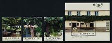 Slovenia 1034-7 MNH Grapevines, Architecture