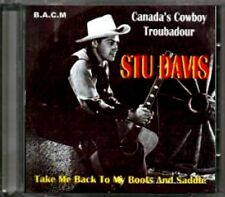 Stu Davis - Take Me Back To My Boots And Saddle  RARE B.A.C.M. Import CD (New!)