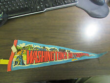 VINTAGE - WASHINGTON'S HEADQUARTERS - VALLEY FORGE PA - 15 IN  PENNANT
