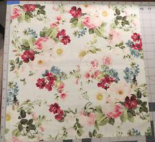 Quilt Gate 100% Cotton Fabric Suzonne 5 Remants 15 x 15 Perfect for Masks