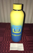 Disney Parks Walt Disney World Neon Stainless Steel Water Bottle New Summer 2020