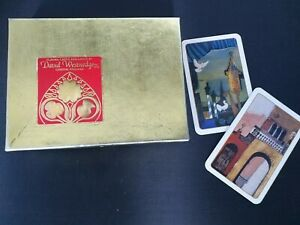 Vintage David Westnedge  London England Twin Pack Playing Cards