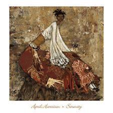 Serenity April Harrison Art Print Ethnic African American Poster 24x24