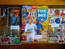 Complete FIFA 365 Panini 2018 Sticker Set&Empty Album Golden World Of Football
