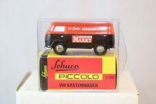 Schuco Piccolo Volkswagen Kastenwagen Oldtimer Markt  neu perfect mint in box