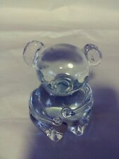 New listing Vintage Clear Solid Glass Sitting Koala Bear Figurine/Paperweight