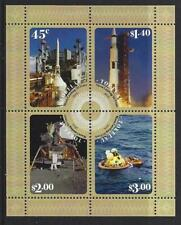 NEW ZEALAND TOKELAU 2019 MOON LANDINGS MINIATURE SHEET UNMOUNTED MINT . MNH