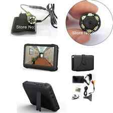 520TVL Mini IR camera with portable 5 inch LCD 2.4G wireless DVR Monitor system