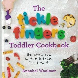 The Tickle Doigts Bébé Livre de Recettes par Annabel Woolmer Neuf Couverture