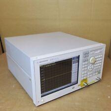 Agilent E5070b Ena Rf Component Tester Network Analyzer 300 Khz To 3ghz 010 214