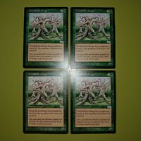 Treefolk Seedlings x4 Urza's Saga 4x Playset Magic the Gathering MTG