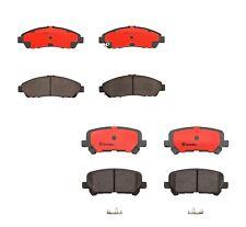 Front & Rear Brembo Brake Ceramic Pads Kit for Acura MDX ZDX Honda Pilot Odyssey