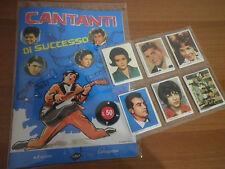 Cantanti di successo ediz. Caltagirone Album + Set figurine Anastatica