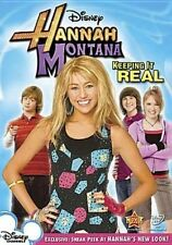Hannah Montana Keeping It Real 0786936769876 With Miley Cyrus DVD Region 1