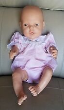 Vintage 1987 Baby Doll w/Cloth and Rubber Body *Clothing has damage* Made in USA