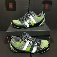 """TSUBO """"Tycho"""" Men's Sneakers Shoes Cuir Green US 8.5 UK 7.5 EUR 41.5 (rrp:149€)"""