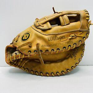 """Wilson A9884 14"""" Softball First Base Mitt Right Hand Throw"""