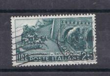 Italia Repubblica 1956 Cinquantenario Traforo del Sempione 797 usato