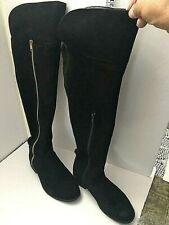 Primark Knee High Boots Womens US Size 5 (EU 36) Black Over Knee Boots
