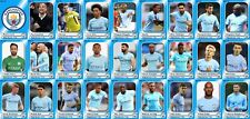 Manchester City Football Squad Trading Cards 2017-18