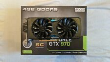 EVGA GeForce GTX 970 SC 4GB Graphics Card