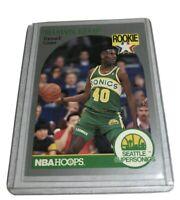 1990 NBA Hoops #279 SHAWN KEMP Rookie Card RC Seattle Supersonics Hard_8s_Magic