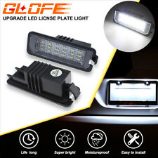 LED License Number Plate Light Lamp For VW Golf MK5 GTI CC Scirocco Polo Passat