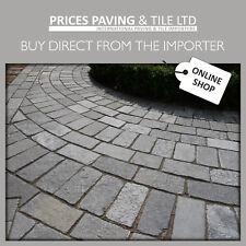 Newmarket Setts Cobbles (100x100mm) 7m2 Natural Limestone Patio Pack