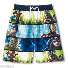 Avengers Boys' Swim Trunk - Size M