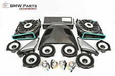 BMW 5 G30 G38 F90 LAUTSPRECHER SPEAKERS SET SOUND AMPLIFIER BOWERS WILKINS ORIG.