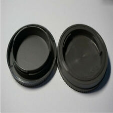 Rear Lens Cap+ Front Body Cover Sony Tool for E-Mount Black Camera NEX-5 NEX-3