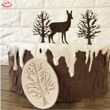 3D Tree Silicone Fondant Mold Cupcake Cake Decorating Chocolate Sugarcraft Mould