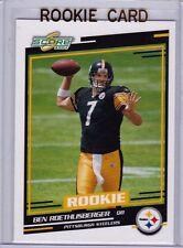 Ben Roethlisberger 2004 Score NFL ROOKIE CARD Pittsburgh Steelers FOOTBALL RC